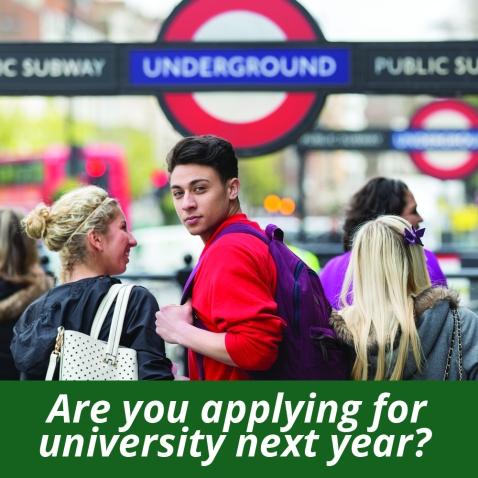 applying for university